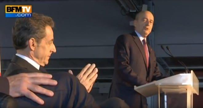 Nicolas Sarkozy et Alain Juppé