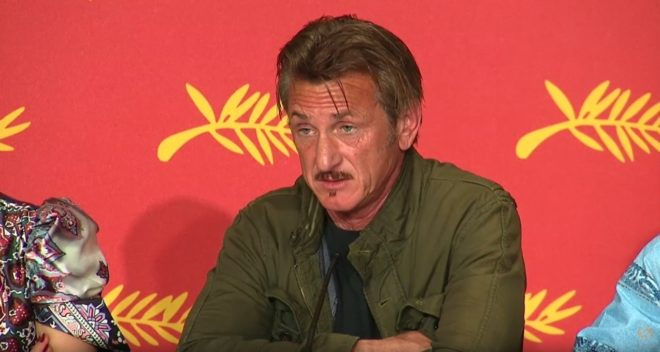 "Sean Penn au Festival de Cannes 2016 pour ""The Last Face"""