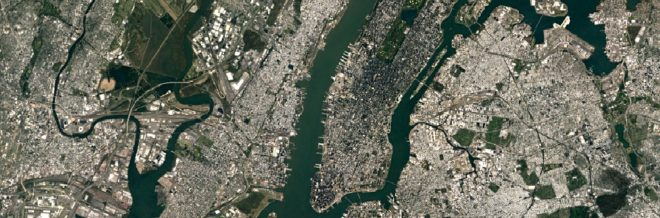 Brooklyn vu par Landsat-8