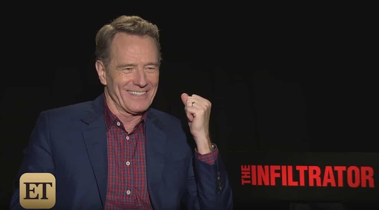 """Bryan Cranston s'exprimant sur le reboot de """"Power Rangers"""" au cinéma"""