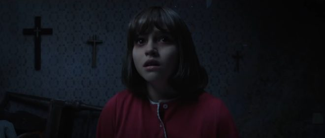 "Janet Hodgson (Madison Wolfe) dans ""Conjuring 2"""