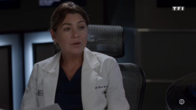 """Meredith (Grey's Anatomy saison 12, épisode 3 """"Lequel des deux ?"""")"""