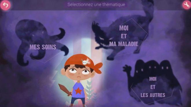 """""""Lumine"""", serious game sur les cancers de l'enfant"""