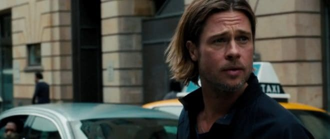 "Brad Pitt dans ""World War Z"""