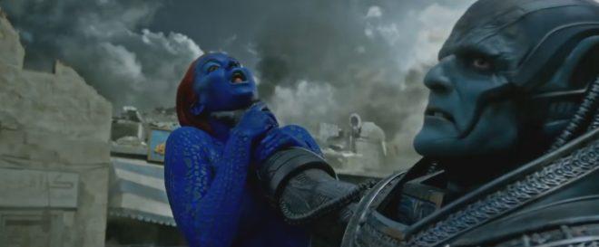 """Mystique et Apocalypse dans """"X-Men Apocalypse"""""""