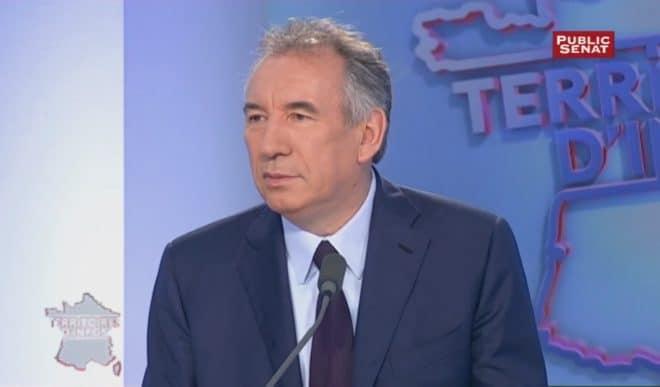 François Bayrou sur Public Sénat le 7 juillet 2016