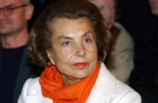 La milliardaire Liliane Bettencourt.