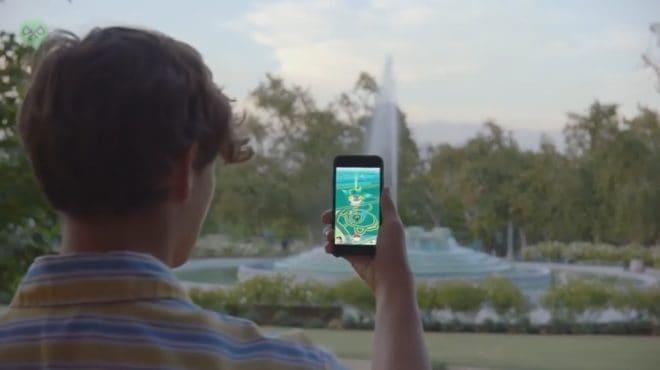 Joueur de Pokémon GO