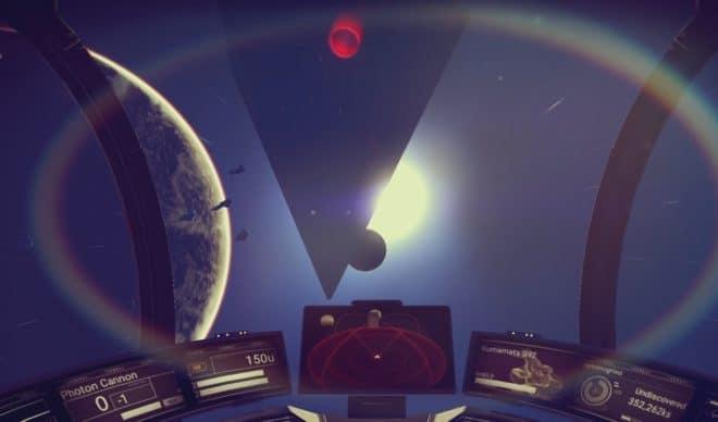 """Le jeu vidéo """"No Man's Sky"""" sur PS4"""