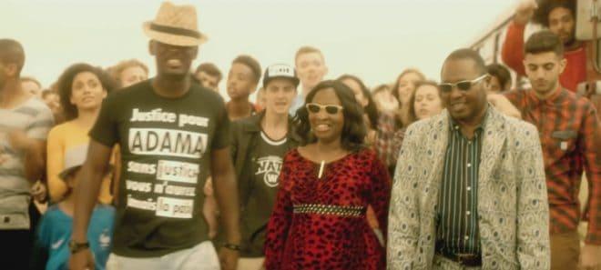 """Black M, Amadou et Mariam dans le clip """"Je suis chez moi"""""""