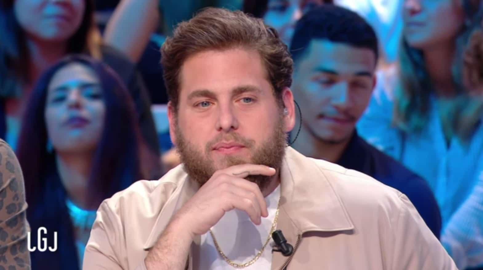 """Jonah Hill invité du """"Grand Journal"""" de Canal+ le 9 septembre 2016"""