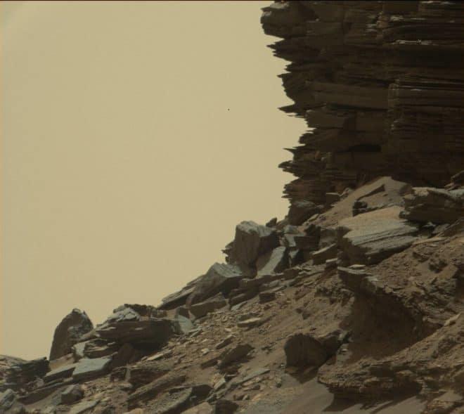 Relief martien, les Murray Buttes