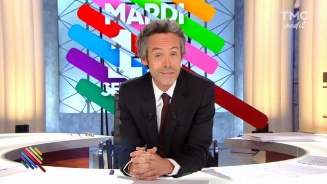 """Yann Barthès à la présentation de """"Quotidien"""" sur TMC"""