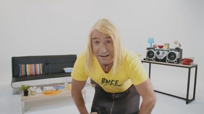 "Jean Dujardin dans le faux ""Brice de Nice 3"""
