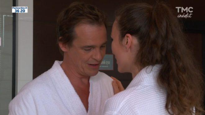 """Peter et Valentina (Les Mystères de l'Amour saison 13, épisode 12 """"L'amour interdit"""")"""