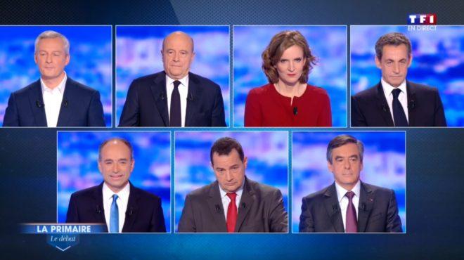 Les sept candidats à la primaire de la droite et du centre