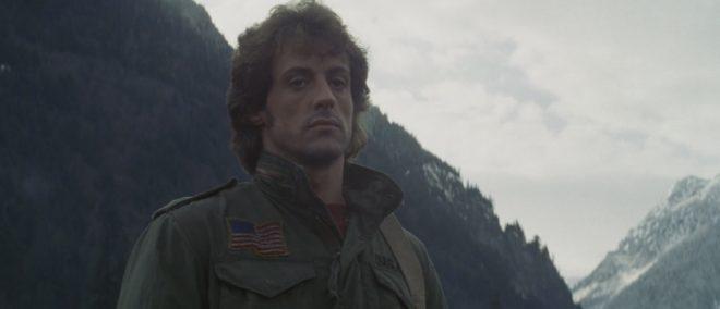 "Sylvester Stallone dans ""Rambo"""
