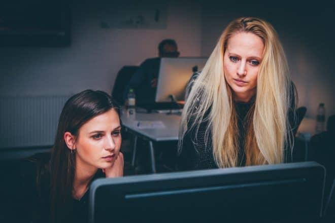 Des femmes au travail. Image d'illustration
