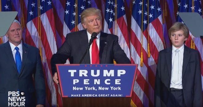 Donald Trump, 45e président des États-Unis