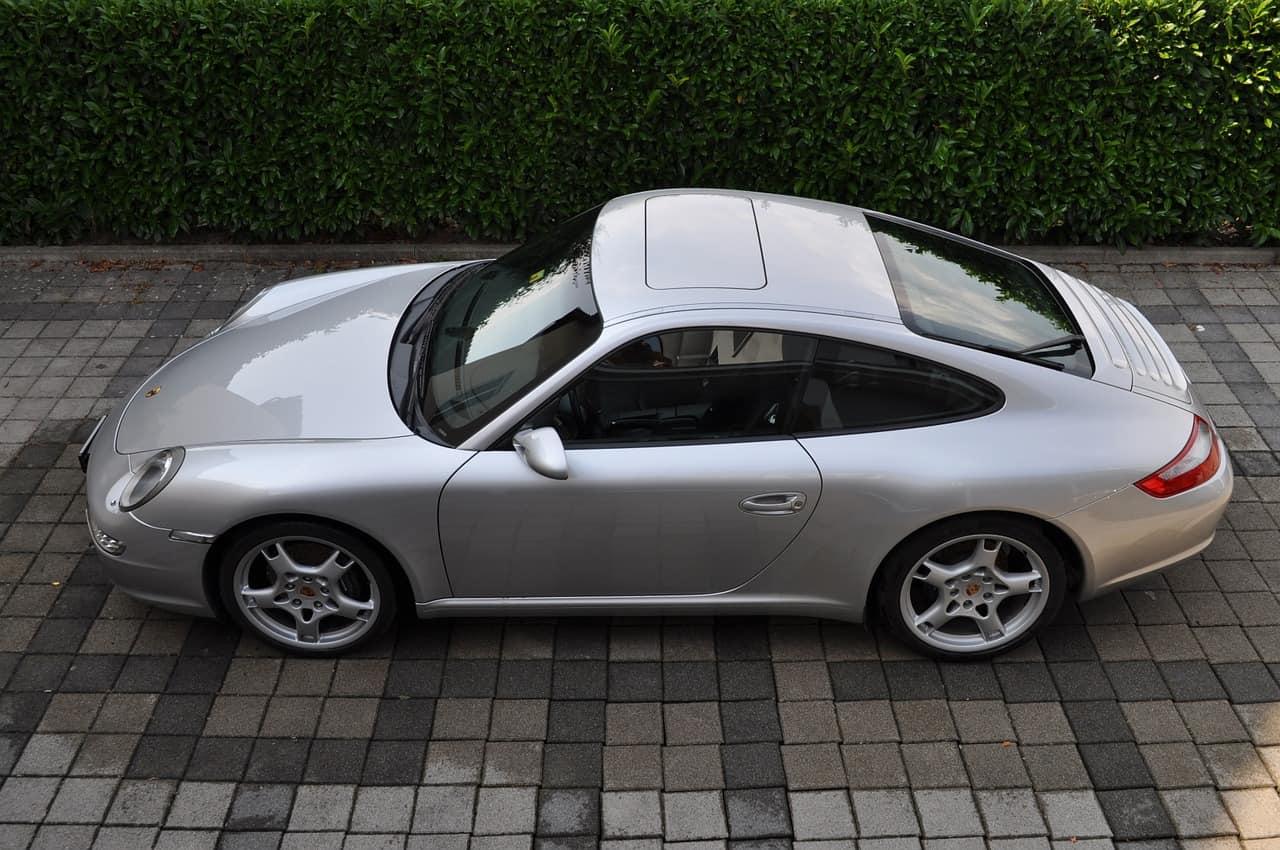 Photo d'illustration. Un véhicule de marque Porsche.