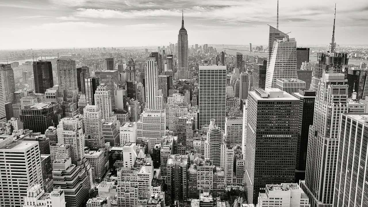 Photo d'illustration. Vue de Manhattan, New York.