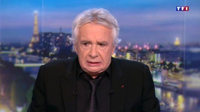 Michel Sardou au 20 heures de TF1 le jeudi 8 décembre 2016