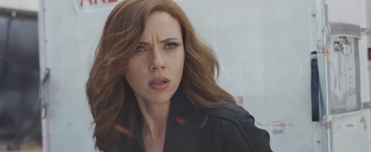"""Scarlett Johansson dans """"Captain America: Civil War"""""""