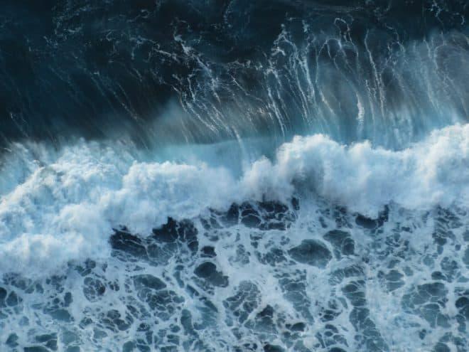 Photo d'illustration. Une vague.