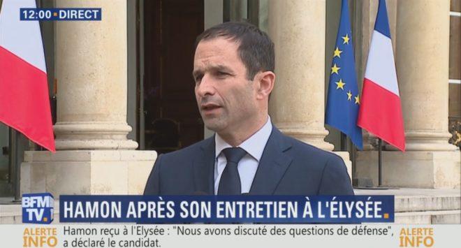 Benoît Hamon le jeudi 2 février 2017