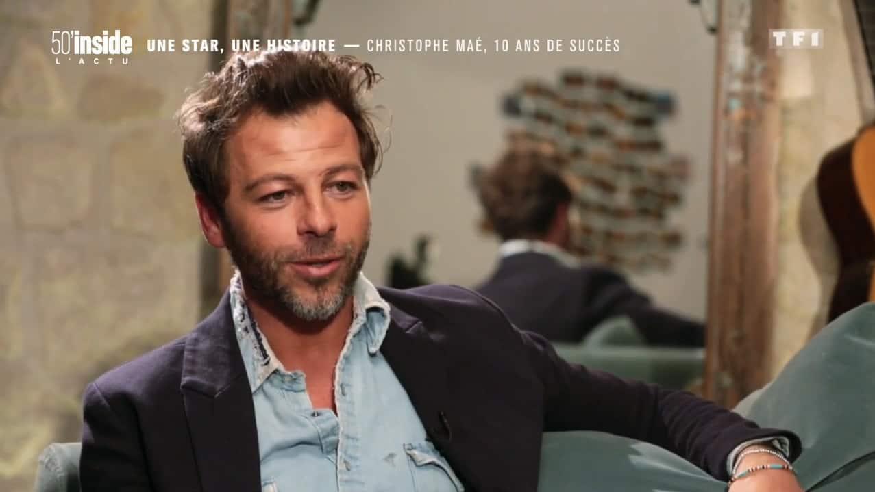 """Christophe Maé dans """"50' inside"""""""