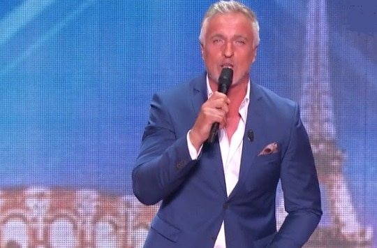 David Ginola dans La France a un incroyable talent