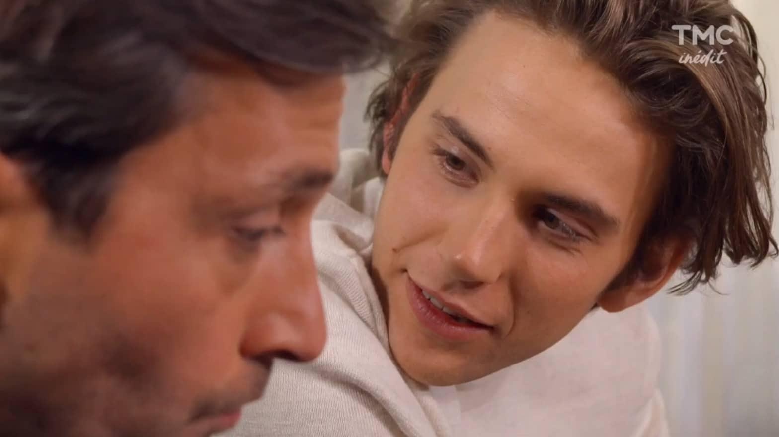 """Christian et Sylvain (Les Mystères de l'Amour saison 14, épisode 13 """"Secrets dévoilés"""")"""