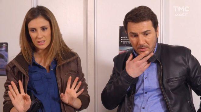"""Stéphanie et Anthony (Les Mystères de l'Amour saison 14, épisode 18 """"Infidélités coupables"""")"""