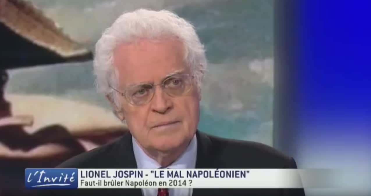 Lionel Jospin en 2014