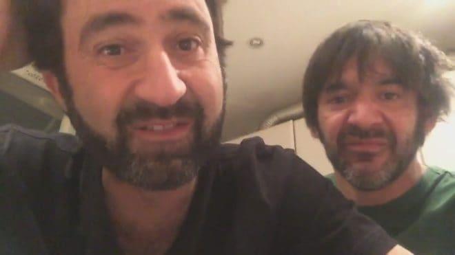 Mathieu Madénian et Thomas VDB