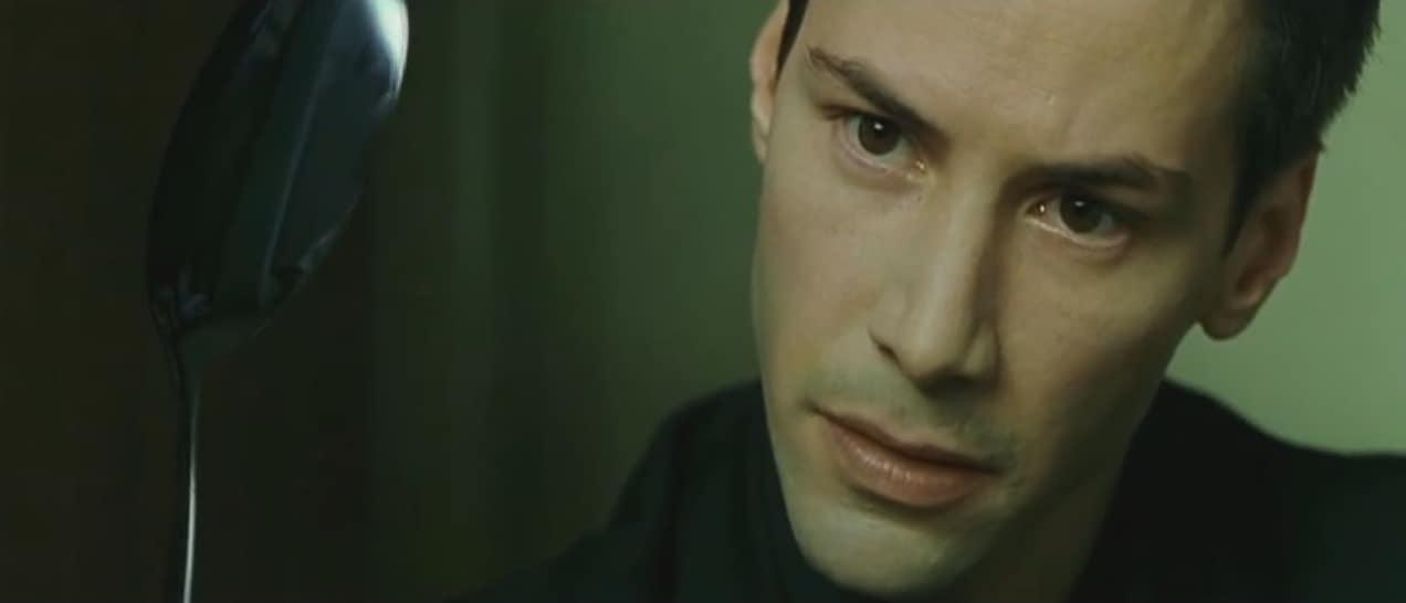 Keanu Reeves dans Matrix (1999)