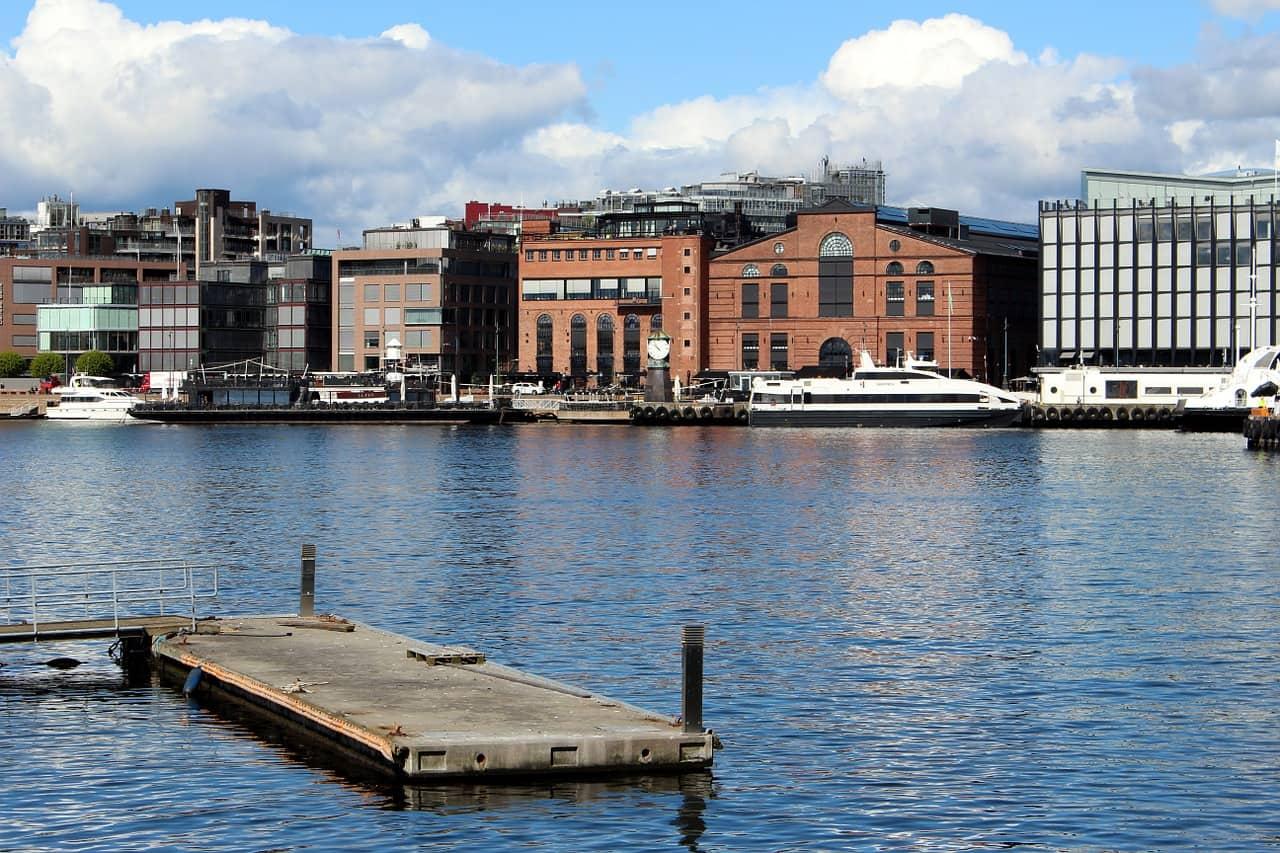 Photo d'illustration. Une vue d'Oslo, capitale de la Norvège.