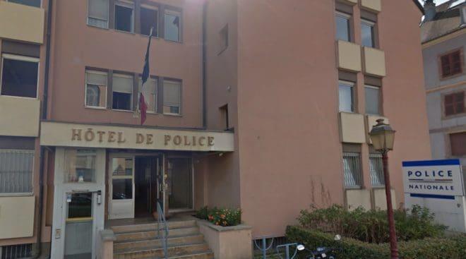 Commissariat de police de Belfort.