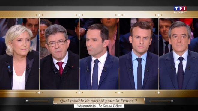 """Présidentielle - """"Le Grand Débat"""" de TF1 du lundi 20 mars 2017"""