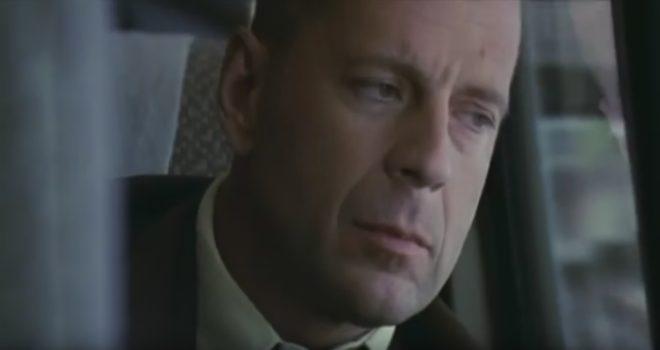 "Bruce Willis dans ""Incassable"""