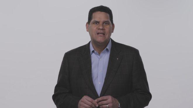 Reggie Fils-Aimé, président de Nintendo of America