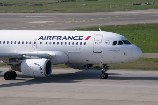 Illustration. un Airbus de la compagnie Air France.