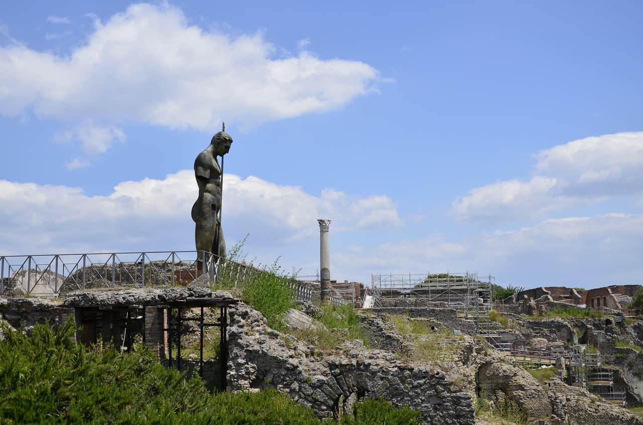 Site de fouilles archéologique de Pompéi