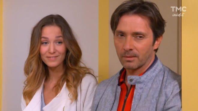 """Tatiana et Christian (Les Mystères de l'Amour saison 15, épisode 9 """"Mémoire incertaine"""")"""