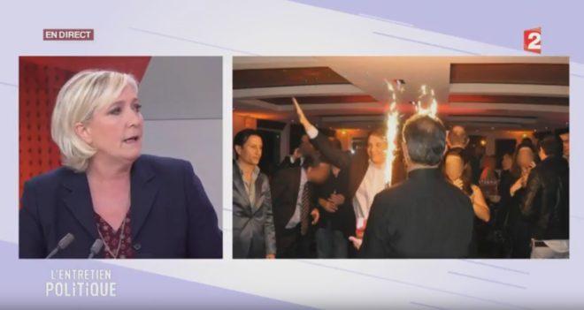 Marine Le Pen l'aurait violemment insulté en coulisses — David Pujadas