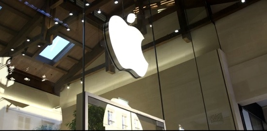 Un magasin Apple