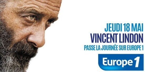 Vincent Lindon sur Europe 1