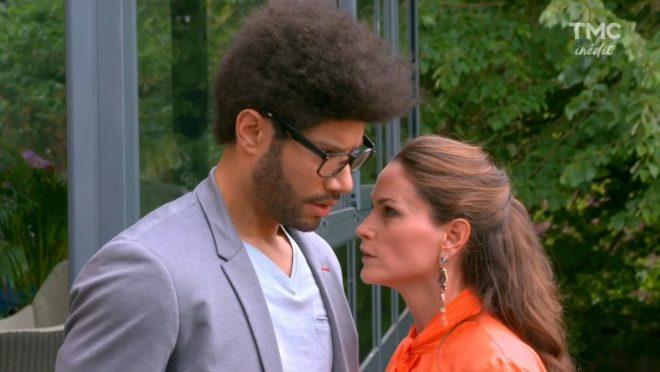 """Antoine """"Tony Vargas"""" Vales et Ingrid (Les Mystères de l'Amour saison 15, épisode 14 """"Cette musique en moi"""")"""