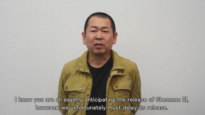 Yu Sukuzi annonce le report de Shenmue 3 à 2018