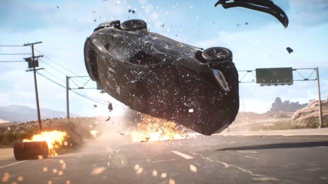 Image tirée de la bande-annonce du jeu Need for Speed : Payback